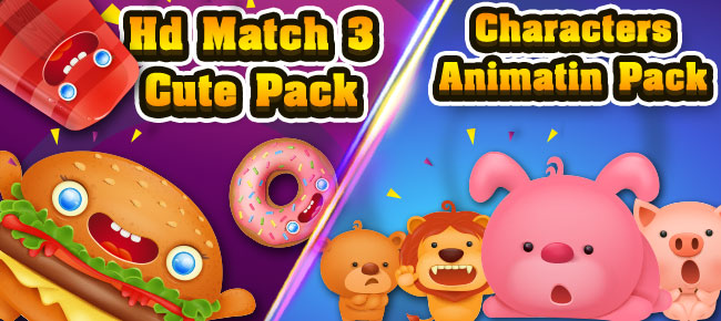 HD-Match-3-Cute-Pack