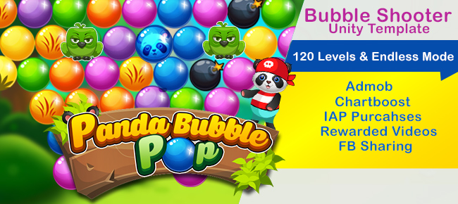 panda-bubble pop