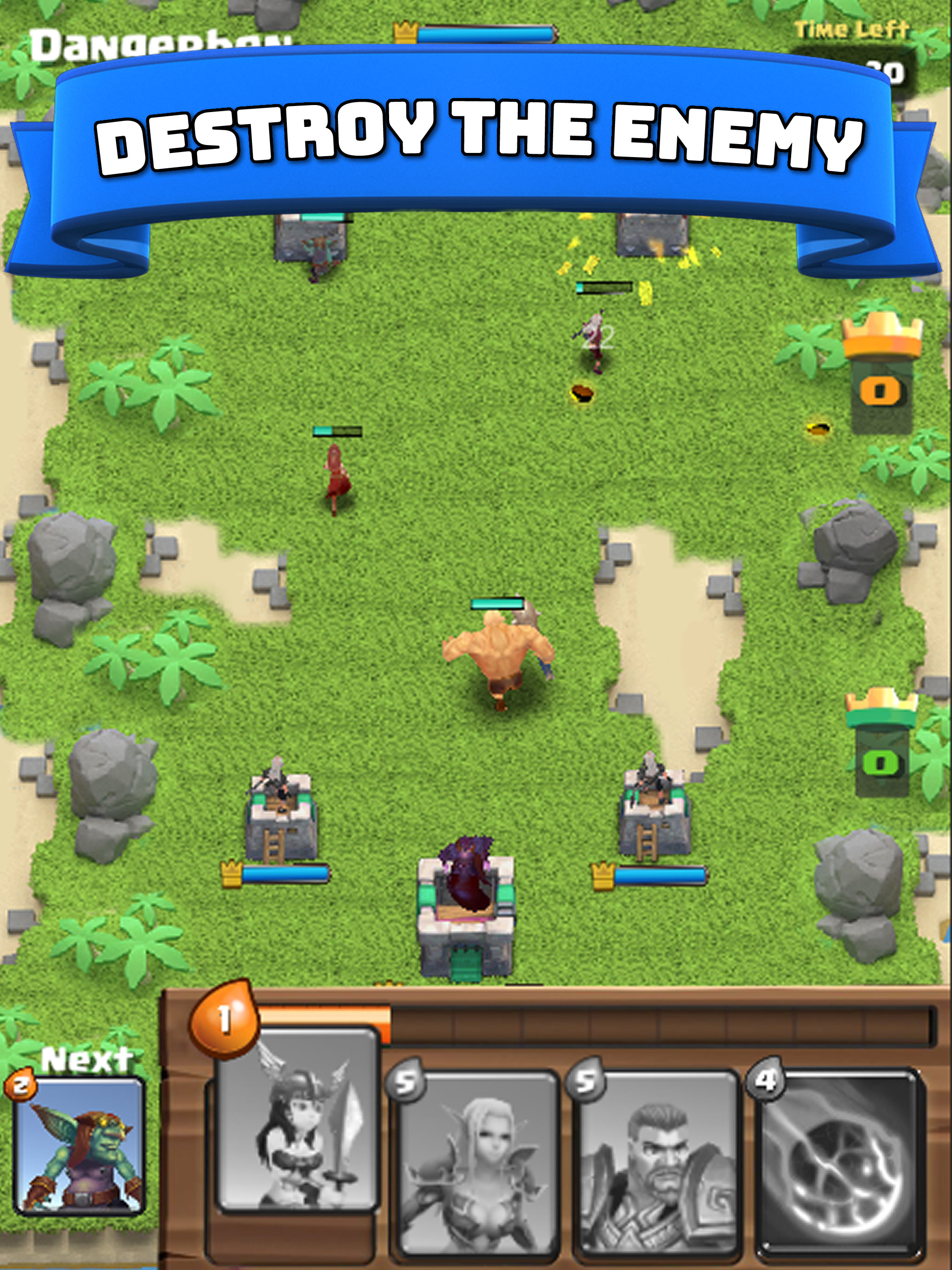 Clash Royale Clone made in Unity3D Game Source Code - Reskin