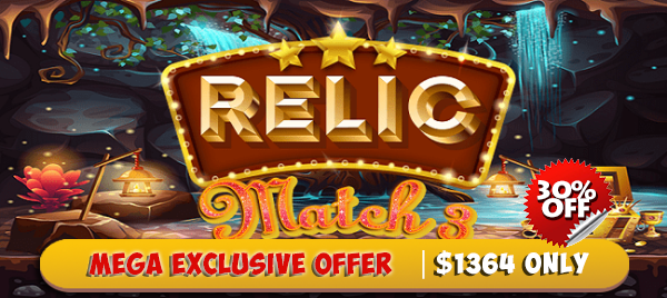 Relic Match 3 Game App Source Code - Reskin