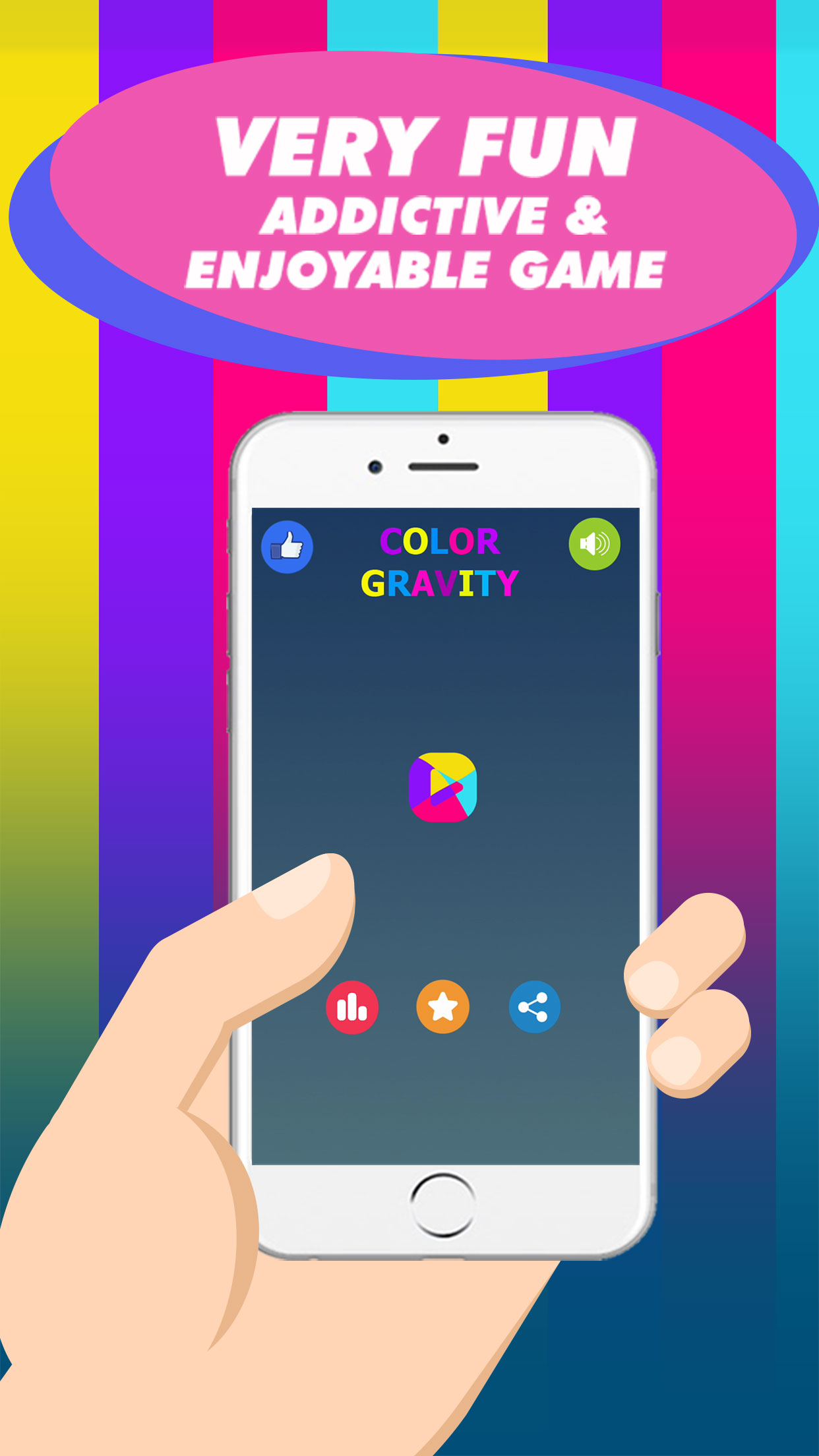 Color-gravity-and-Cubic-Jump