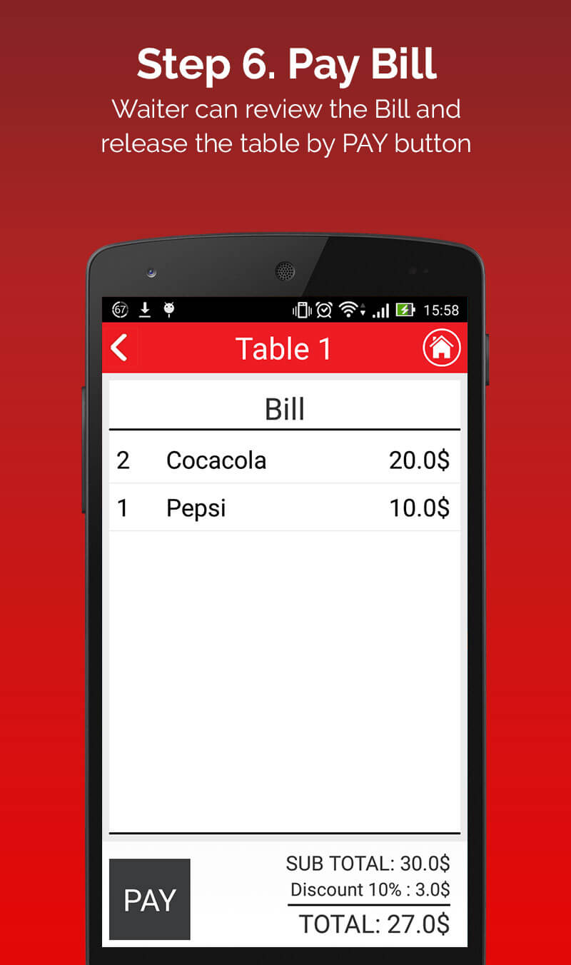 Restaurant-Android-App