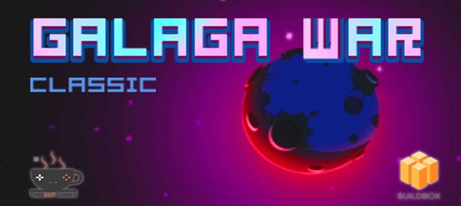 Galaga War Classic Game Source Code iOS & Android